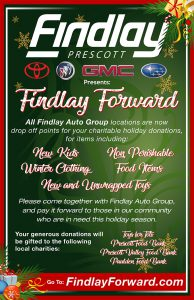 Findlay Forward Holiday Poster