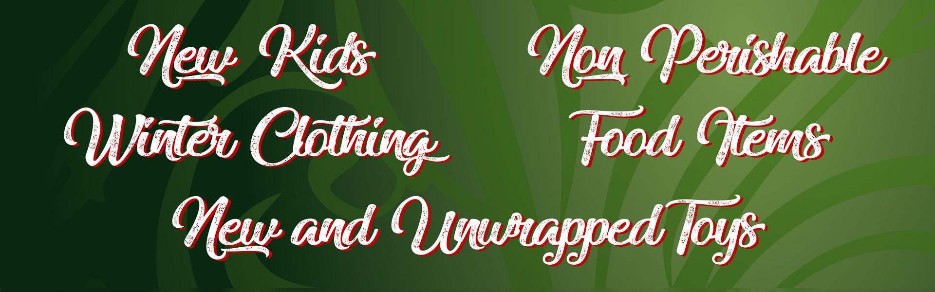 Findlay Forward: Holiday Food & Toy Drive